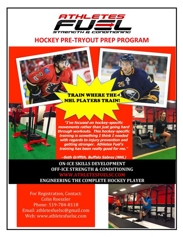 2019 Hockey Pre-Tryout Prep Program - Cover-page-001